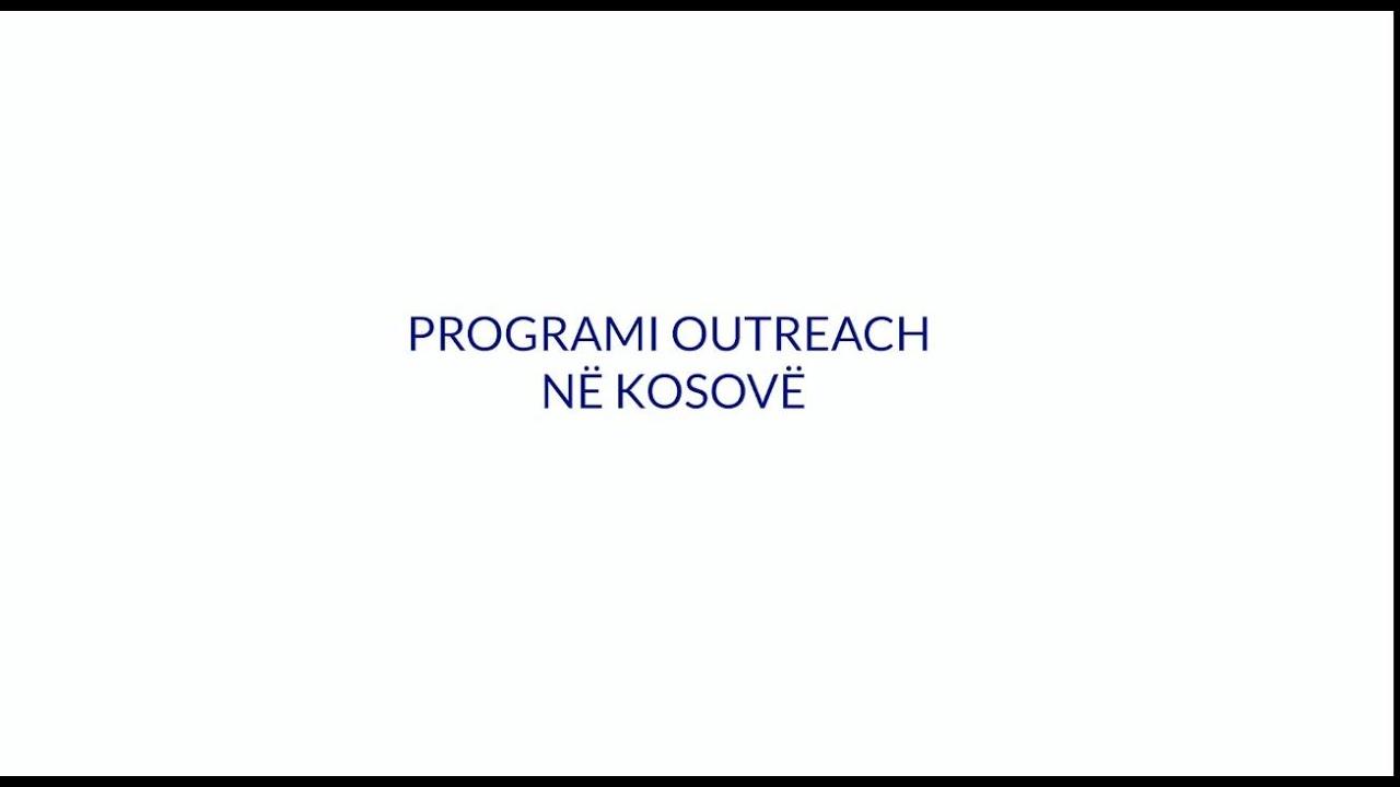 Programi Outreach në Kosovë